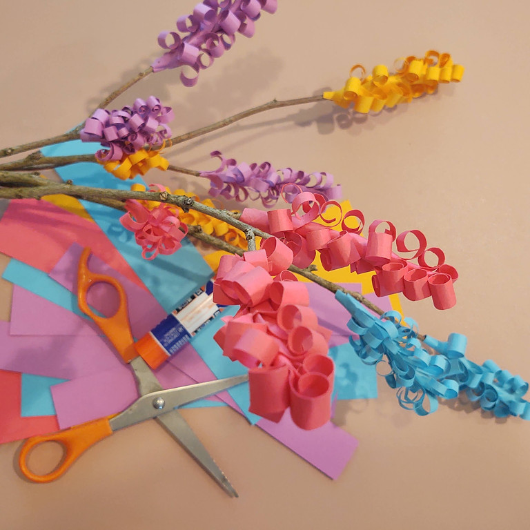 Teen Crafter-Noon: Paper Flowers