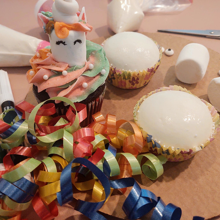 Unicorn Cupcake Family Challenge