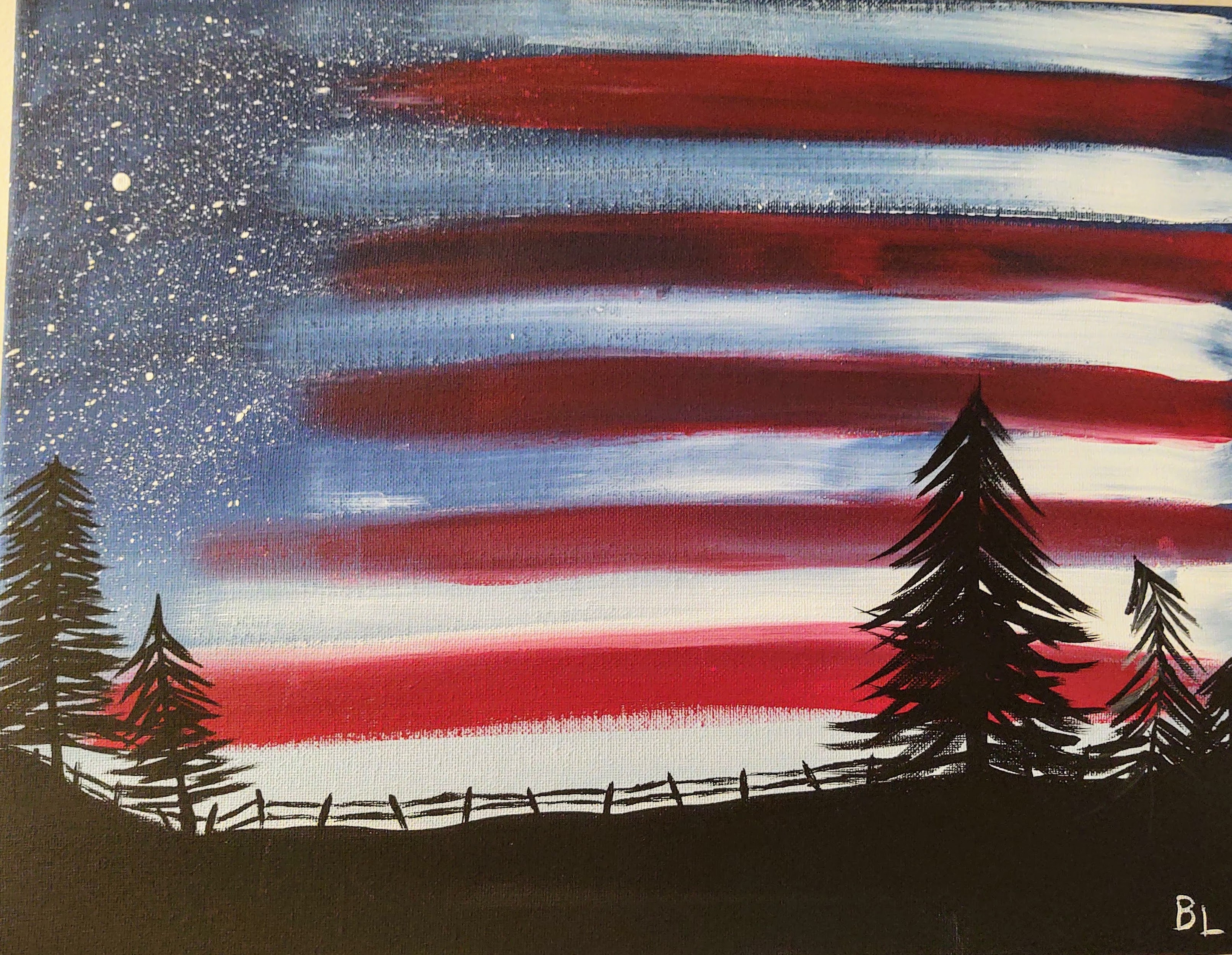 Adult Craft & Connect: Star Spangled Sky