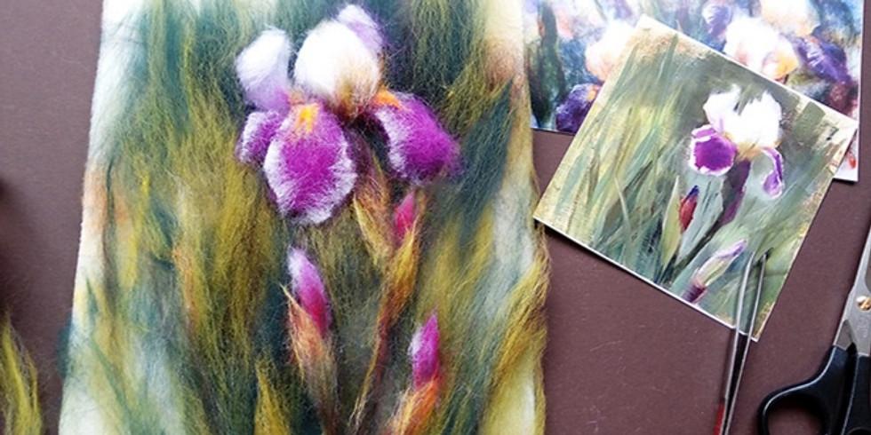 Мастер-класс по живописи шерстью
