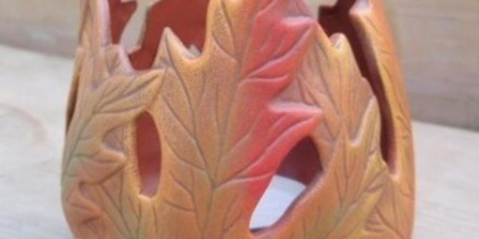 Мастер-класс по керамике Ваза-светильник