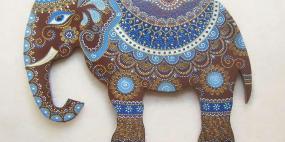 """Мастер-класс по керамике """"Слон"""""""