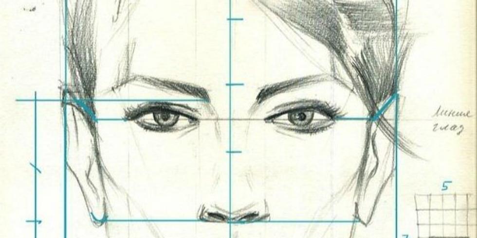 Мастер-класс Рисуем портрет с нуля