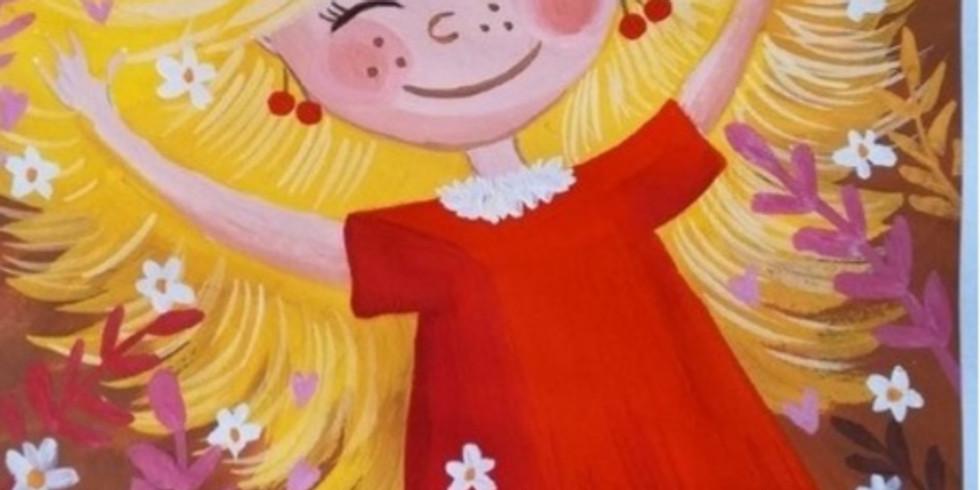 """Мастер-класс для детей с 3 лет """"Солнечное настроение"""""""