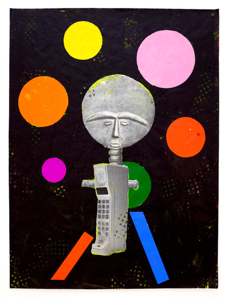 (object d'art, papa object, object poster, Africa, southwest, pioneer, craft, Sotheby's, Christies, antique, antiquities, painting, block printing, African mask, objects d'art, posters, geometric abstraction, color abstraction, art catalogs, consumerism, materialism, marketplace, advertisement, print, mixed media, reed Anderson artist, Reed Anderson posters)