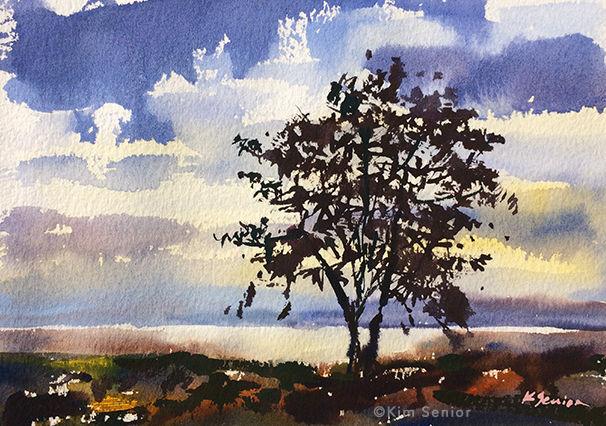 Watercolors I Evening Sky Oct 28 & Nov 4