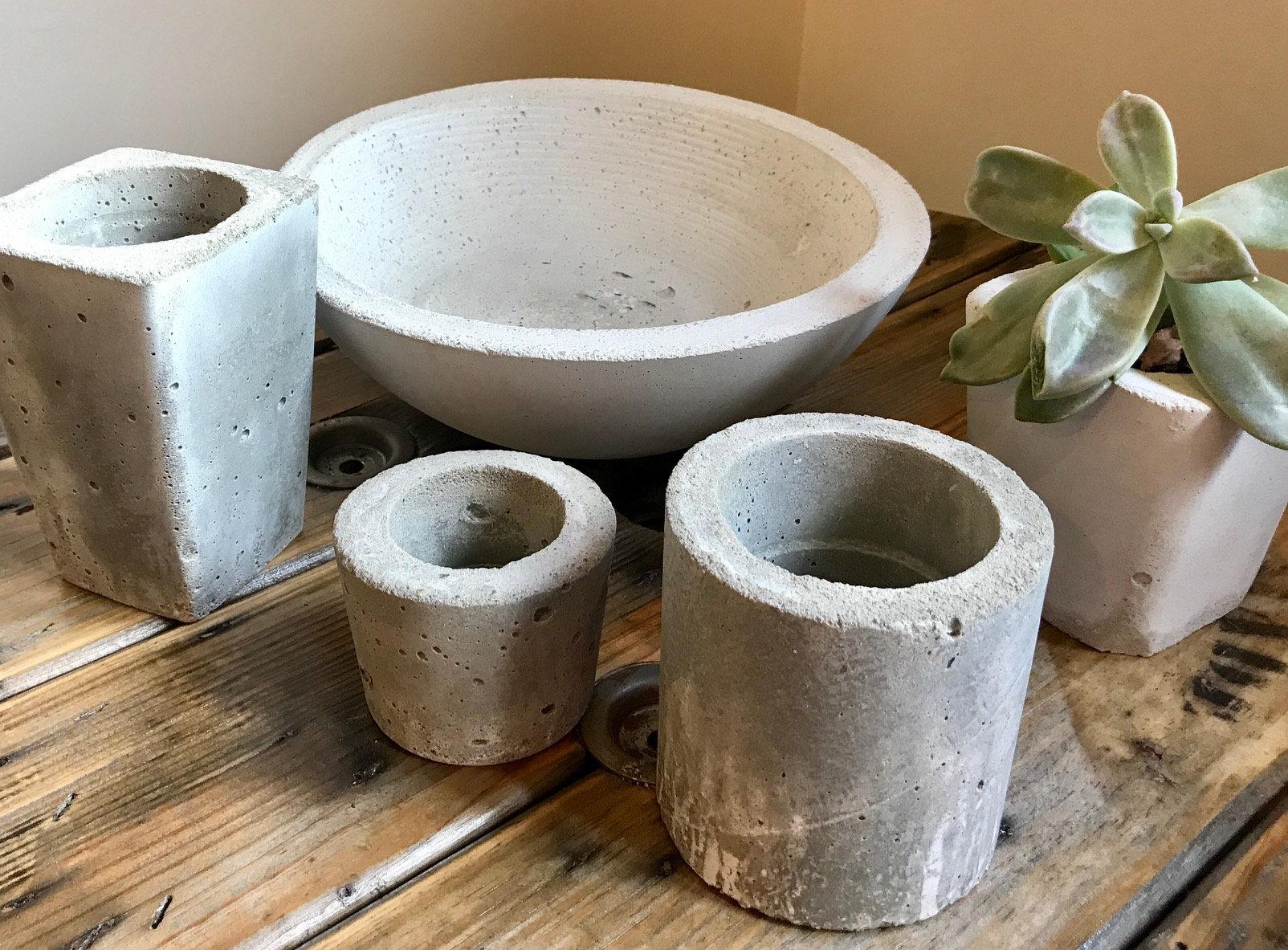 Cement Bowls & Vessels      Dec 5 & 12