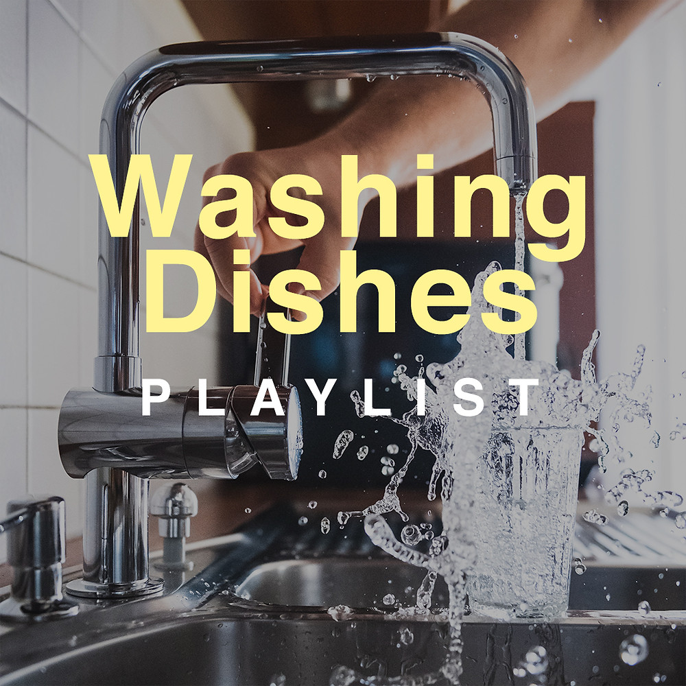 Cover for the Washing Dishes Playlist on Spotify