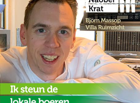 Bjorn Massop van Villa Ruimzicht doet mee omdat
