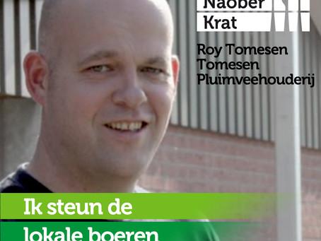 Roy Tomesen van Tomesen Pluimveehouderij doet mee omdat