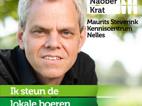Maurits Steverink van Kenniscentrum Nelles doet mee omdat...