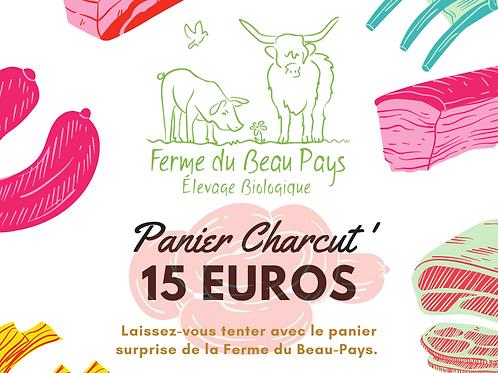 PANIER CHARCUT' 15 euros