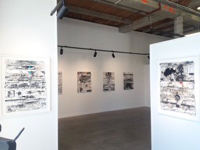 SUBDUCTION (large works on paper show )