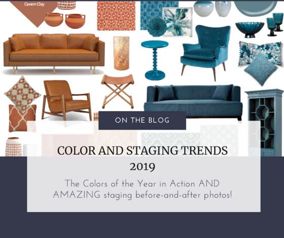 Gail's Staging and Design's Work has Been Features in Color and Staging Trends 2019