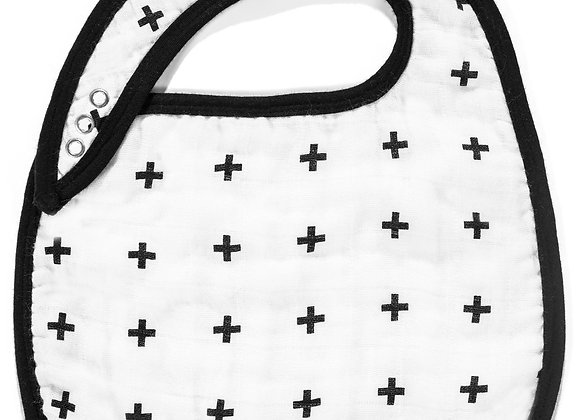 BIB - SWISS CROSS | ORGANIC COTTON MUSLIN