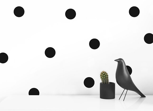 LARGE DOT WALL DECALS