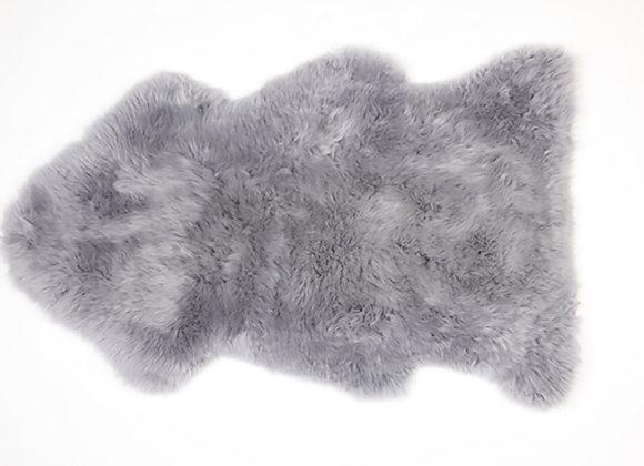 GREY SINGLE PREMIUM SHEEPSKIN RUG