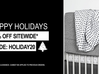 Happy Holidays! 20% Site Wide Savings