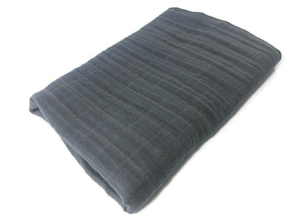 CHARCOAL GRAY SWADDLE