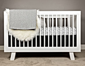 CRIB BEDDING SET - SWEET HOME