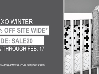 WINTER SAVINGS = 20% OFF SITE WIDE