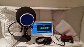 Comment enregistrer un spot radio dans un château