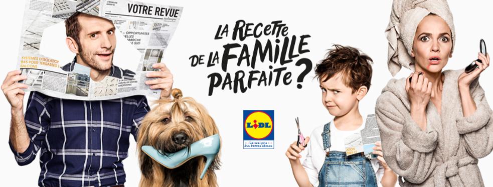 Sophie & Pierre, la saga publicitaire de Lidl