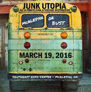 Junk Utopia McAlester, OK 2016