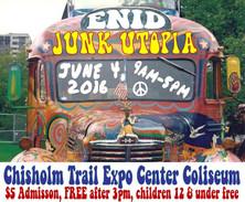 Junk Utopia Enid, OK 2016