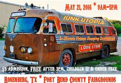 Junk Utopia Rosenberg, TX 2016