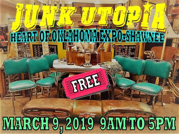 Junk Utopia Shawnee, OK 2019