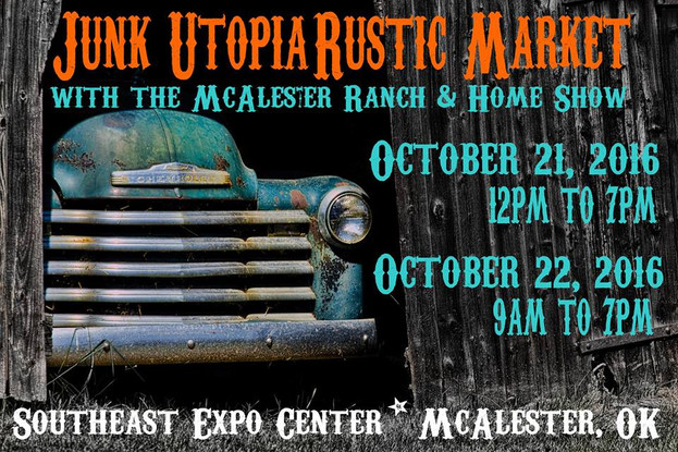 Junk Utopia Rustic Market McAlester, OK 2016