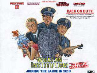 What an institution! Police Academy Doc
