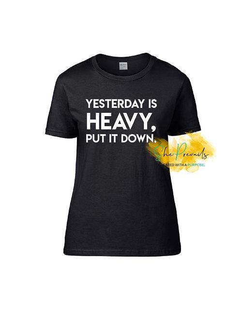 Yesterday's Weight