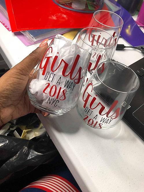 Girls Trip Wine Glass