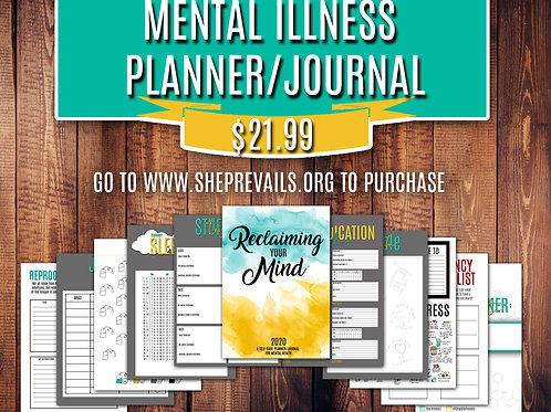 Mental Illness Planner and Jounal