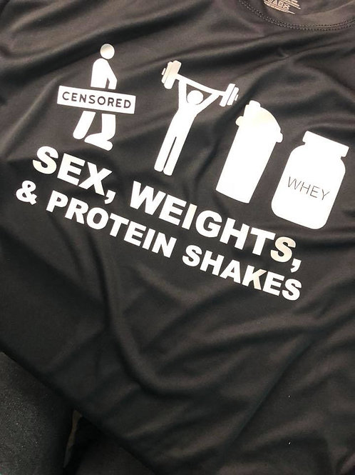 Sex, Weights, Protein Shakes