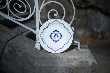 Maison Manoï - Héritage - grande assiett