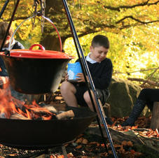 Wild Stone Age Cooking