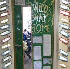 Wonderful Wild Way Home Story Door