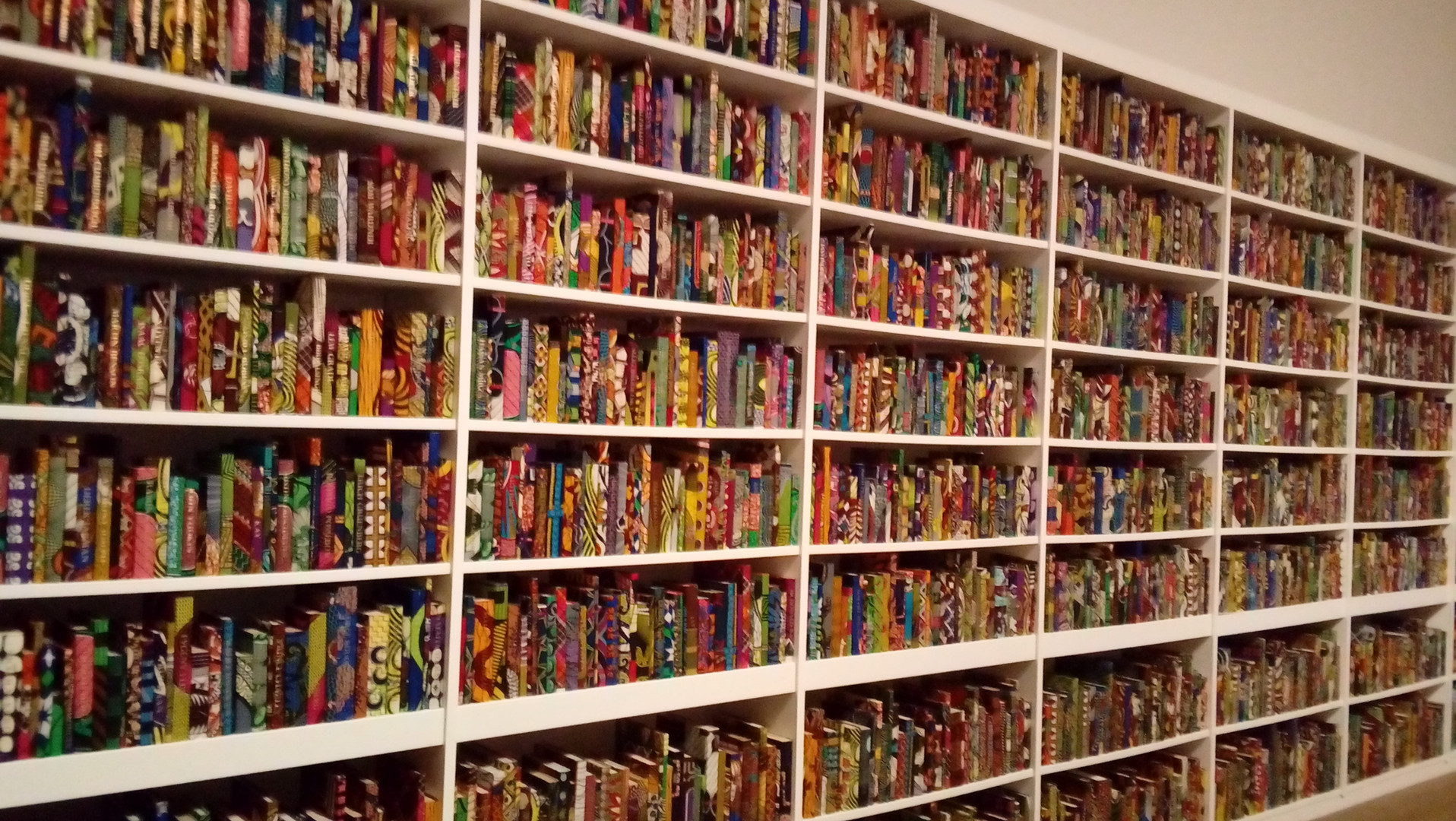 Yinka Shonibare, The British Library, 2014
