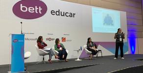 Compartilhando aprendizagens na Bett Educar