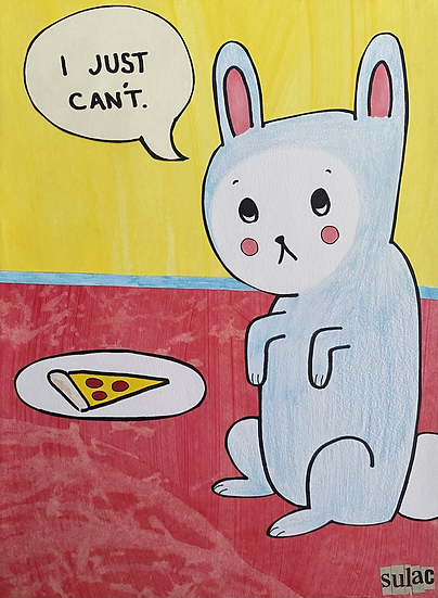 """""""I Just Can't"""" (9x12)"""