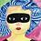 "Thumbnail: ""Harriet as Zorra (Zorro's Sister)"" 11x14"