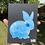 """Thumbnail: """"Blue Bunny (6x8)"""