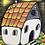 """Thumbnail: """"Spooky House"""" (9x12)"""
