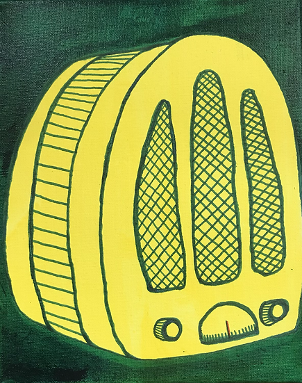 """Lemon Radio"" (8x10)"