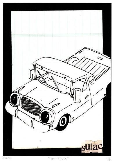 """Toy Truck"" (8x10) Print"