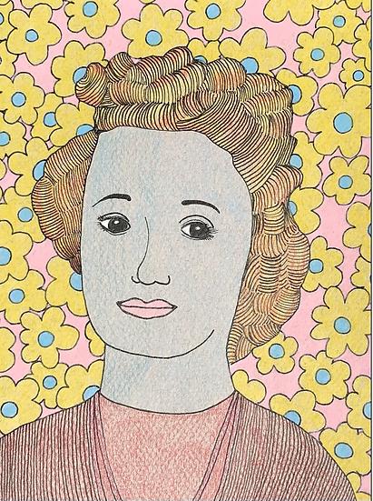 """""""Beatrice"""" (6x8)"""