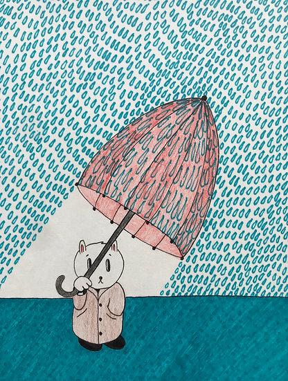 """Crazy Weather"" (6x8)"
